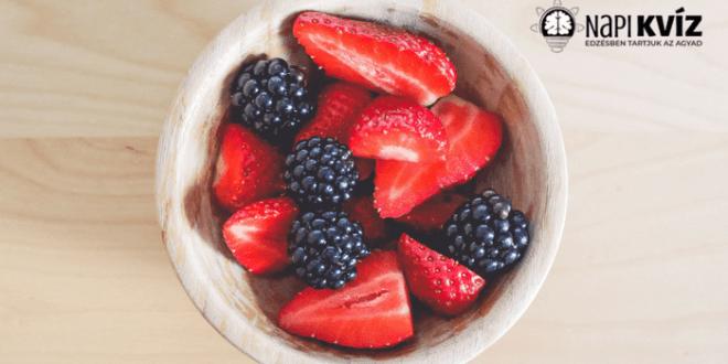 Étel felismerő képrejtvény kvíz
