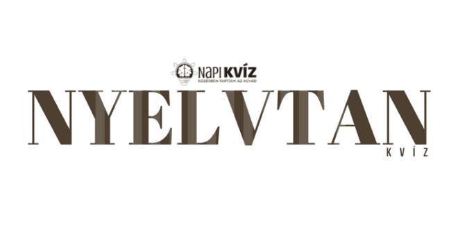 Magyar nyelvtan-haladó-helyesírás kvíz