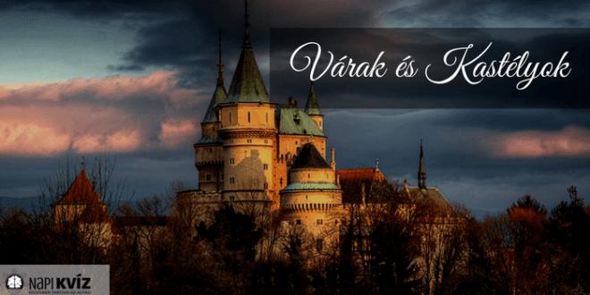 Magyar várak, és kastélyok kvíz