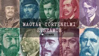 Magyar történelem-évszámok-kvíz