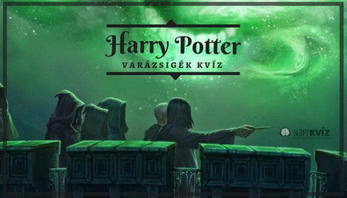 Harry Potter varázsige kvíz