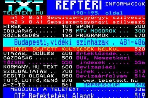 80-as évek magyar tévéműsorai 2