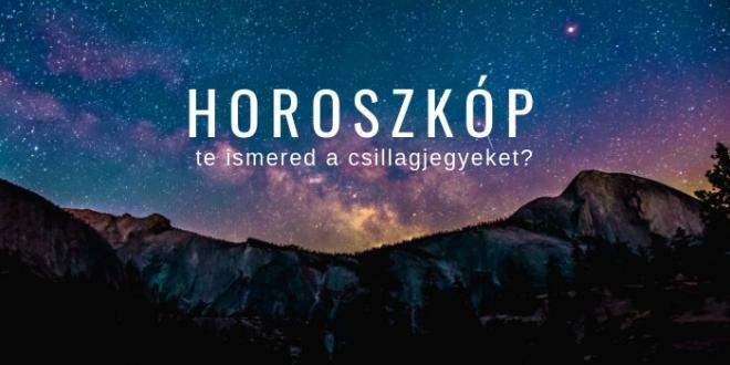 csillagjegy horoszkóp