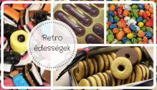 Retro édességek