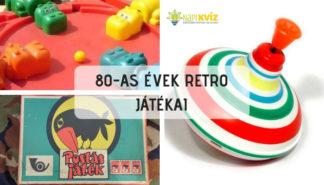 Retró játékok a 80-as évekből