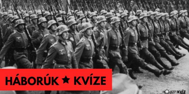 nagy háborúk történelem
