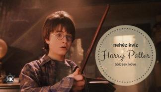 Nehéz Harry Potter