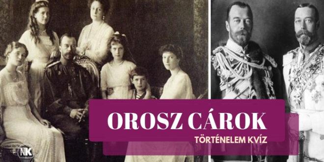 Orosz cárok történelem
