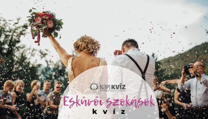 Esküvői szokások, te tudod miért csinálják?