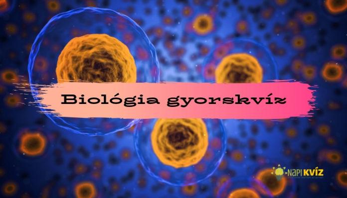Általános biológia ismeretek kvíz