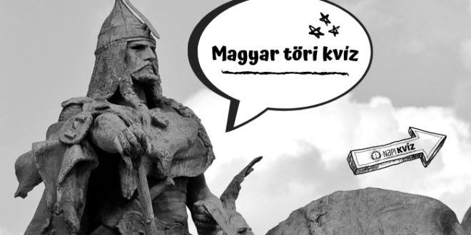 Árpádházi királyok történelmi kvíze