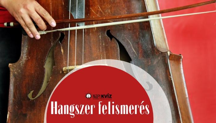 Te felismered a különleges hangszereket?