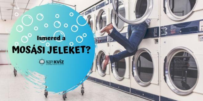 Felismered a mosási jeleket? Kvíz
