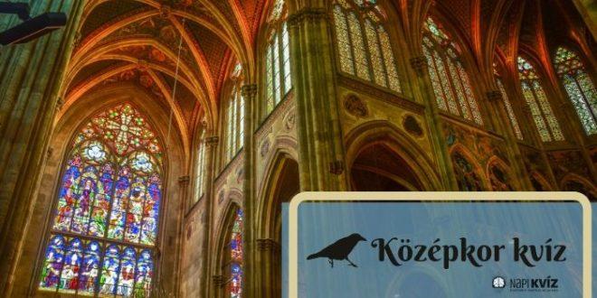 középkori fogalmak kvíze