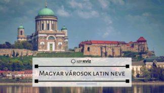 magyar városok latinul