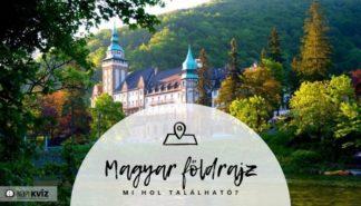 Magyarországi települések földrajzi kvíz